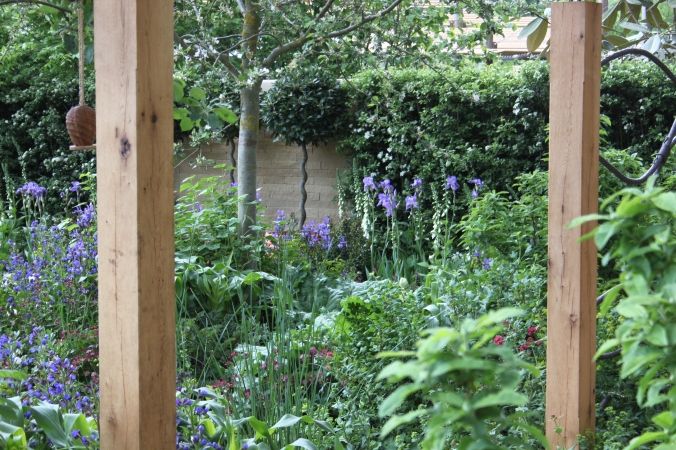 Homebase 'Sowing the Seeds of Change' garden