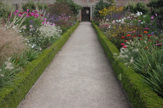 Flower borders in the Walled Garden