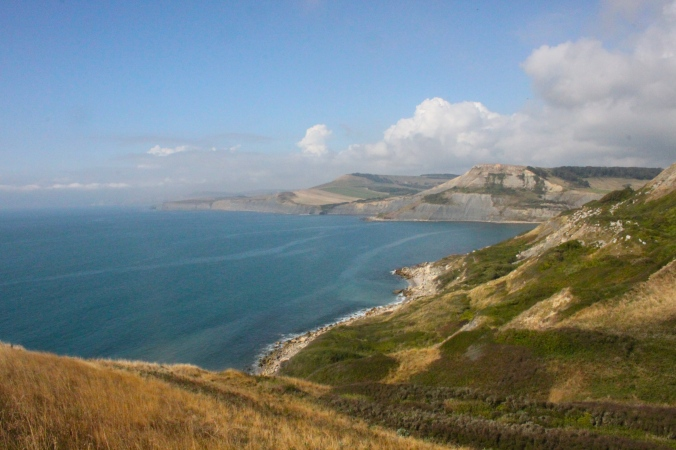 South West Coast Path, St Aldhelm's Head, Dorset, England