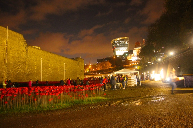 Tower of London Saturday 15th November 3-6p.m shift