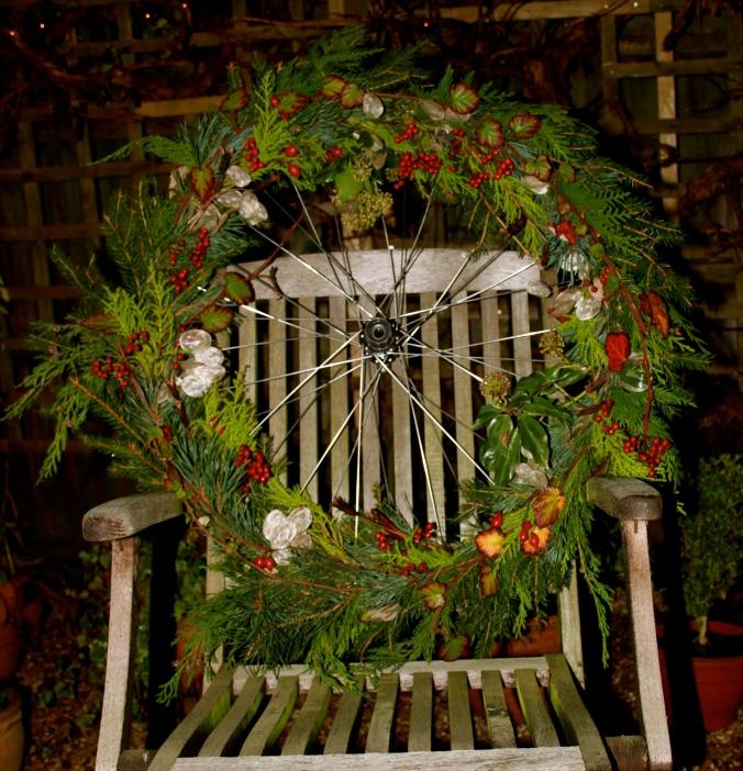 Festive Wheel Wreath