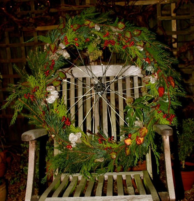Festive Wheel Wreath