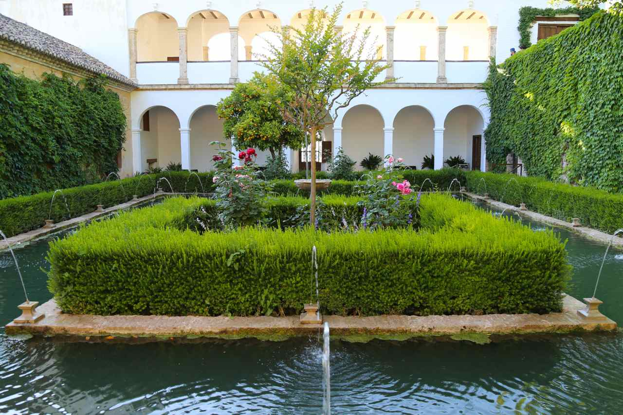 The Gardens of the Alhambra and Generalife, Granada, Spain – Part two Partal ...