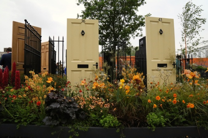 Modern Slavery Garden